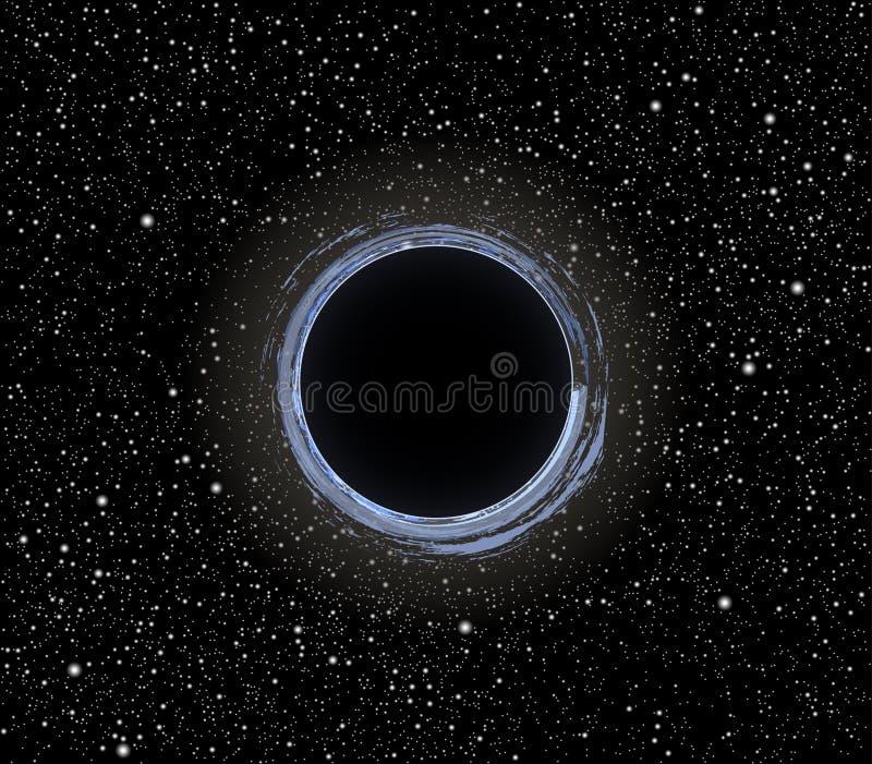 Zwart gatenvector vector illustratie