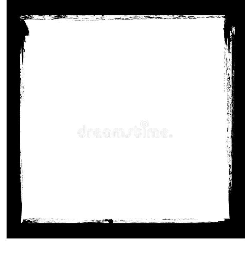 Zwart inktframe vector illustratie