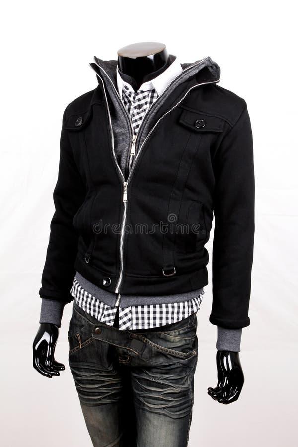 Zwart jasje stock foto's