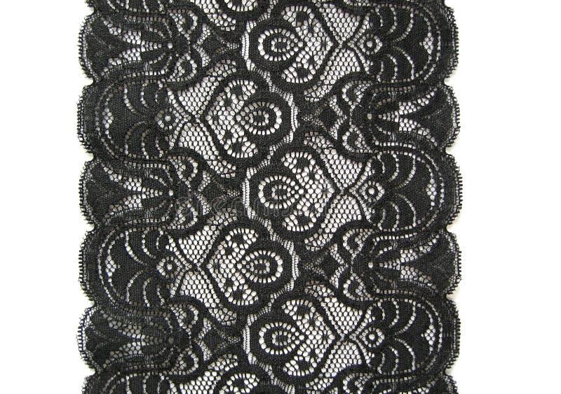 Zwart kant stock afbeeldingen