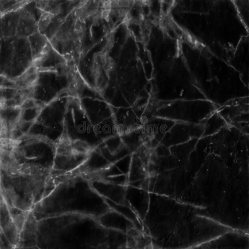 Zwart marmeren textuurpatroon als achtergrond stock foto