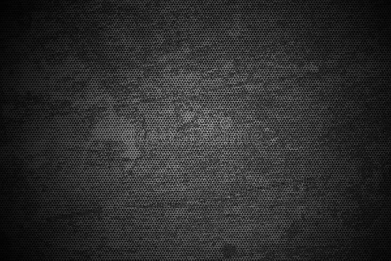 Zwart Meshy Metaal stock afbeelding