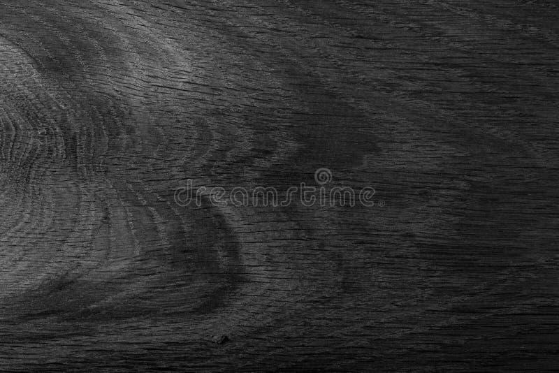 Zwart natuurlijk eiken hout Duur ebbehout Hoog - kwaliteitstextuur in uiterst hoge resolutie royalty-vrije stock foto