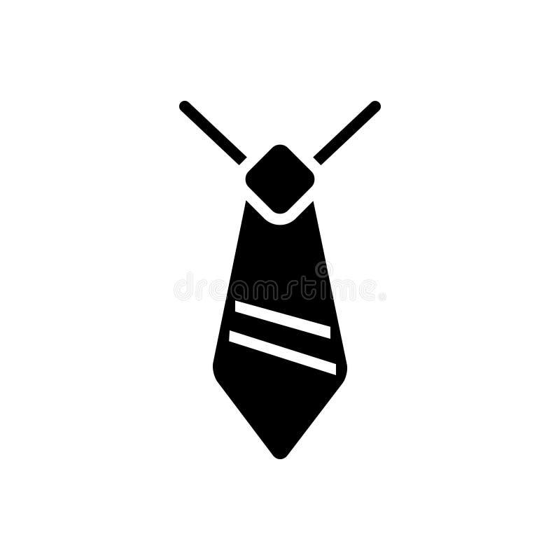 Zwart stevig pictogram voor Talent, vaardigheid en deskundigheid vector illustratie