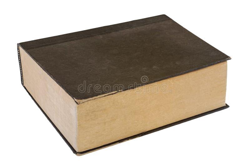 Zwart uitstekend boek stock foto's