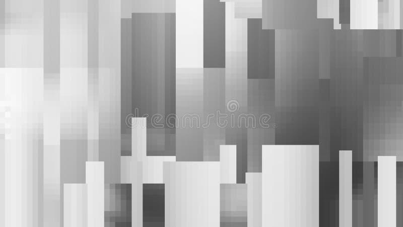 Zwart-wit achtergrond in schaduwen van grijs vector illustratie