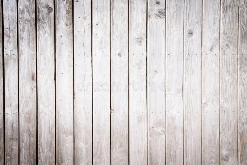 Zwart-wit beeld van houten planken vector illustratie