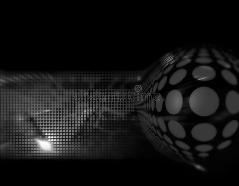 Zwart-wit illustratie stock illustratie