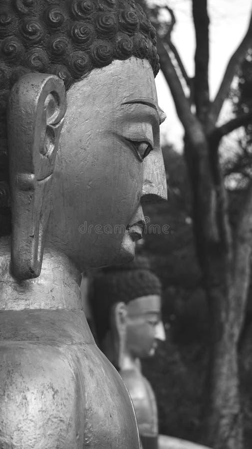Zwart-wit Nepal (reeks) stock foto