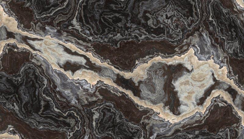 Zwart-wit onyx vector illustratie