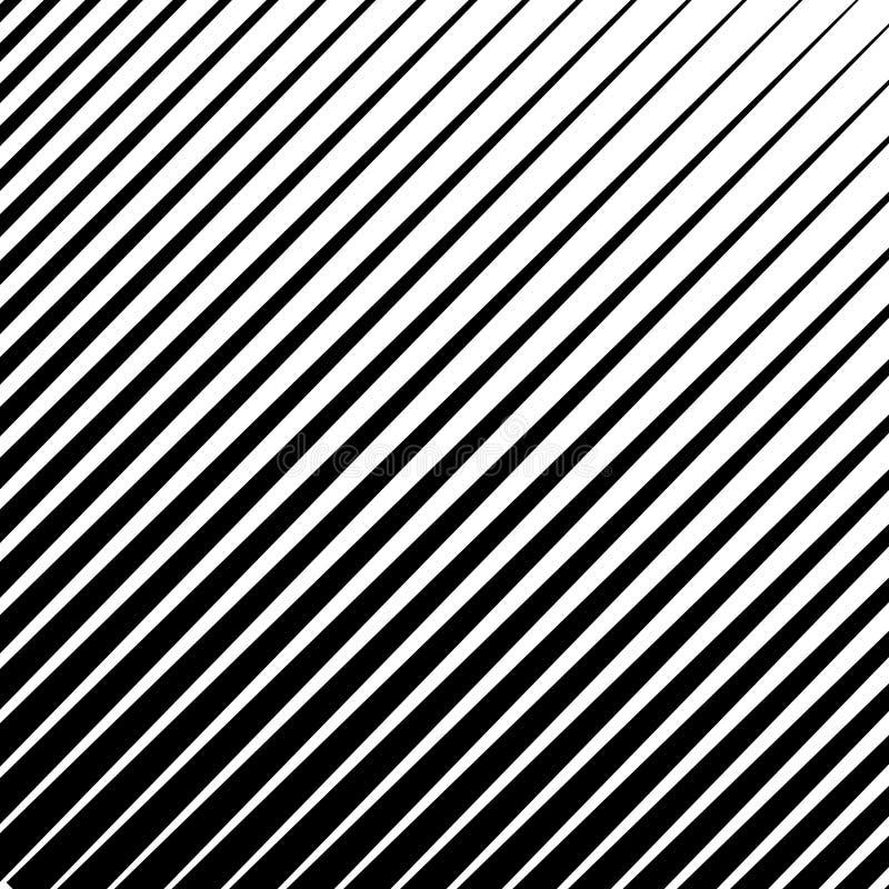 Zwart-wit, parallel lijnen abstract geometrisch patroon EPS 10 vector stock illustratie