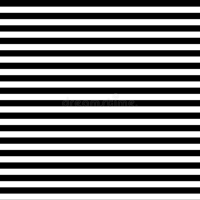 Zwart-wit strepen naadloos patroon stock foto