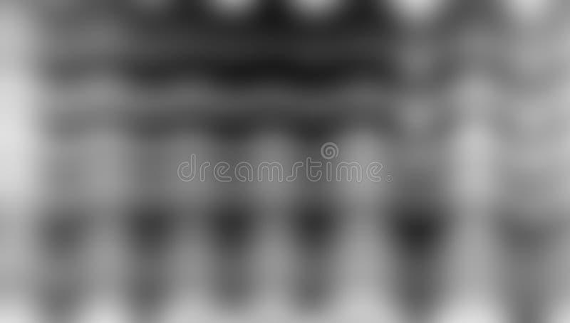 Zwart-wit vaag in de schaduw gesteld behang als achtergrond levendige kleuren vectorillustratie vector illustratie