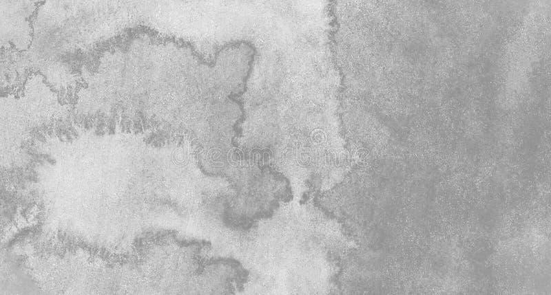 Zwart-witte abstracte waterverfachtergrond voor texturen achtergrond en van Webbanners ontwerp stock illustratie