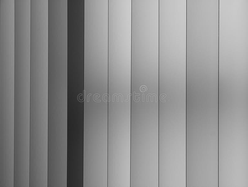 Zwart-witte blinden royalty-vrije stock foto