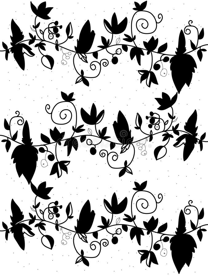 witte achtergrond tekening bloemen - photo #18