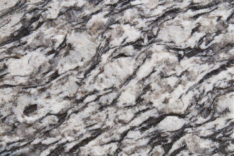Zwart-witte, donkere bruine de textuurachtergrond van de granietsteen muur, vloer zwart graniet, natuurlijke het patroonontwerp o stock afbeelding