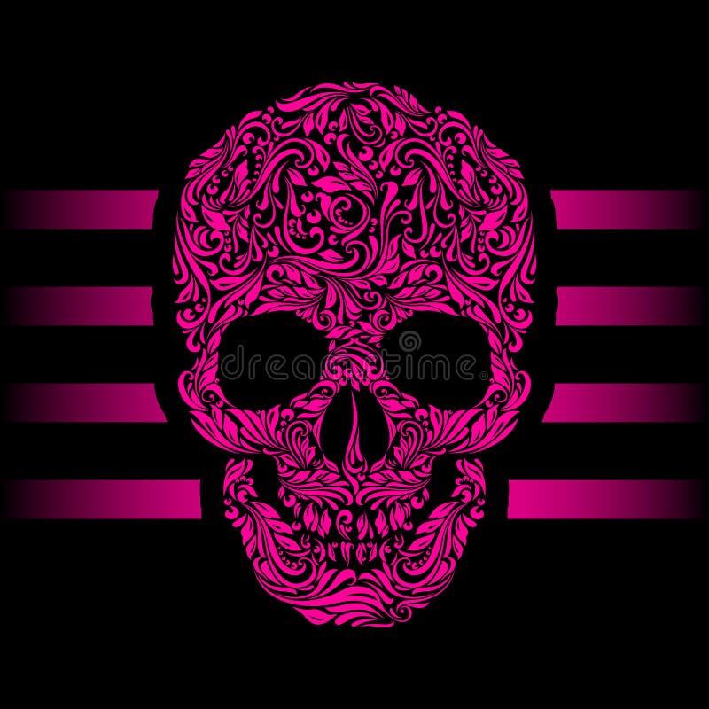Zwart-witte EPS8 naadloze vector royalty-vrije illustratie