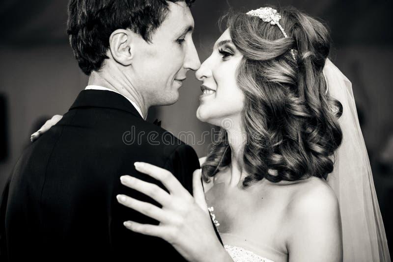 Zwart-witte foto van de dans royalty-vrije stock fotografie