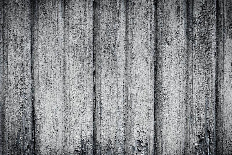 Zwart-witte houten muur als achtergrond royalty-vrije stock afbeeldingen