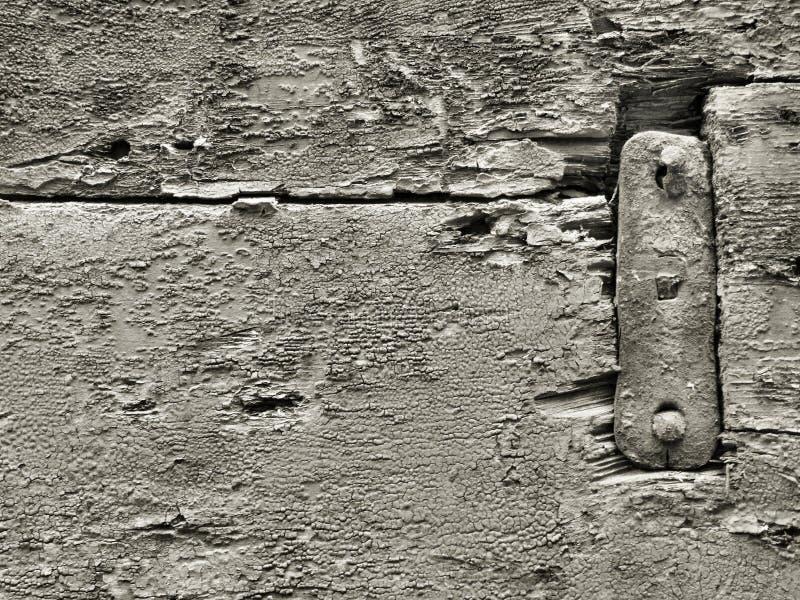 Zwart-witte houten oppervlakte stock fotografie