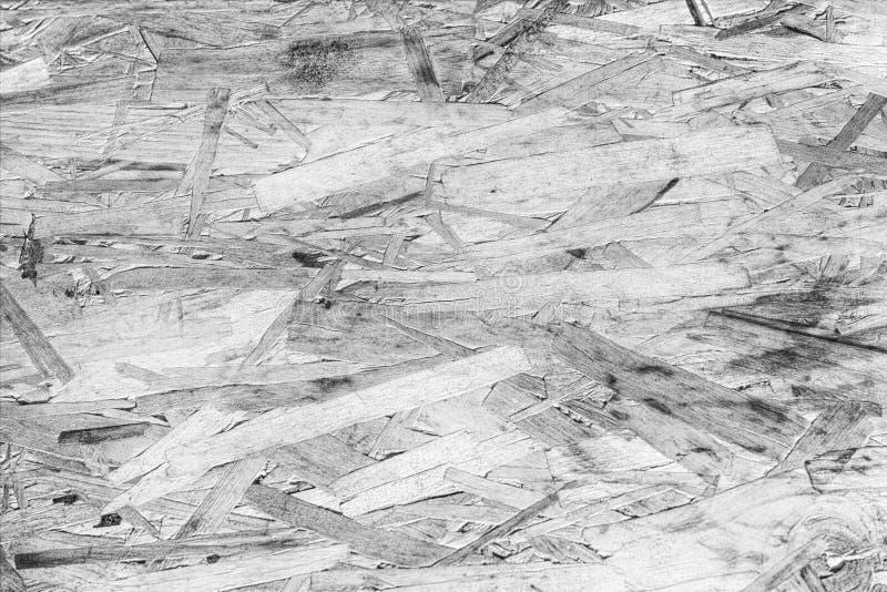 Zwart-witte houten textuurachtergrond stock foto's