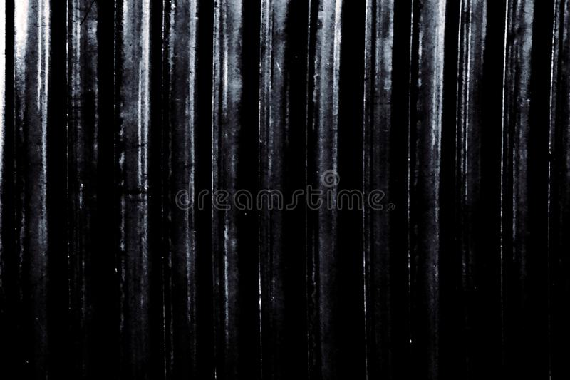 Zwart-witte metaallat stock foto's
