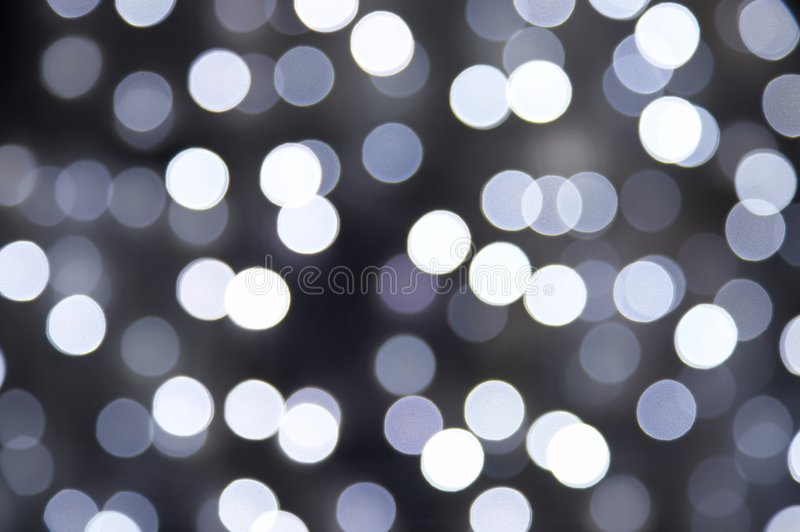 Zwart-witte onduidelijk beeldverlichting royalty-vrije stock afbeelding