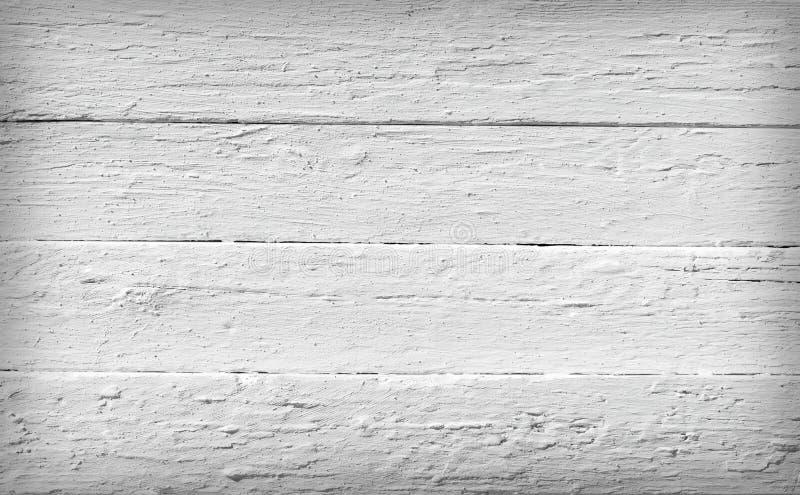 Zwart-witte textuur van houten planken royalty-vrije stock foto's