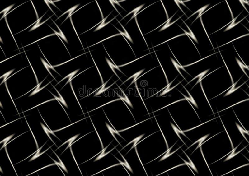 Zwart Zilver stock foto