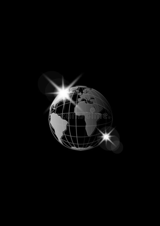 Zwarte Aarde royalty-vrije illustratie