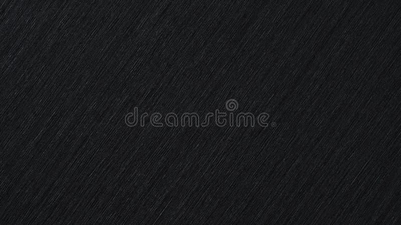 Zwarte abstracte metaalachtergrond, patroon van geborsteld metaal royalty-vrije stock afbeelding