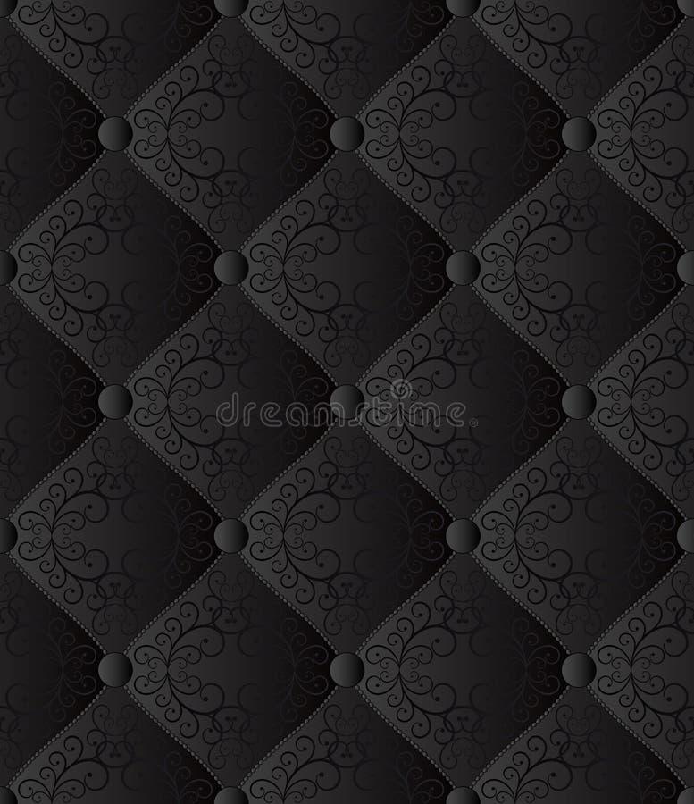 Zwarte achtergrond royalty-vrije illustratie