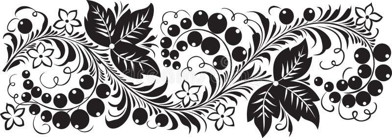 Zwarte bes royalty-vrije illustratie