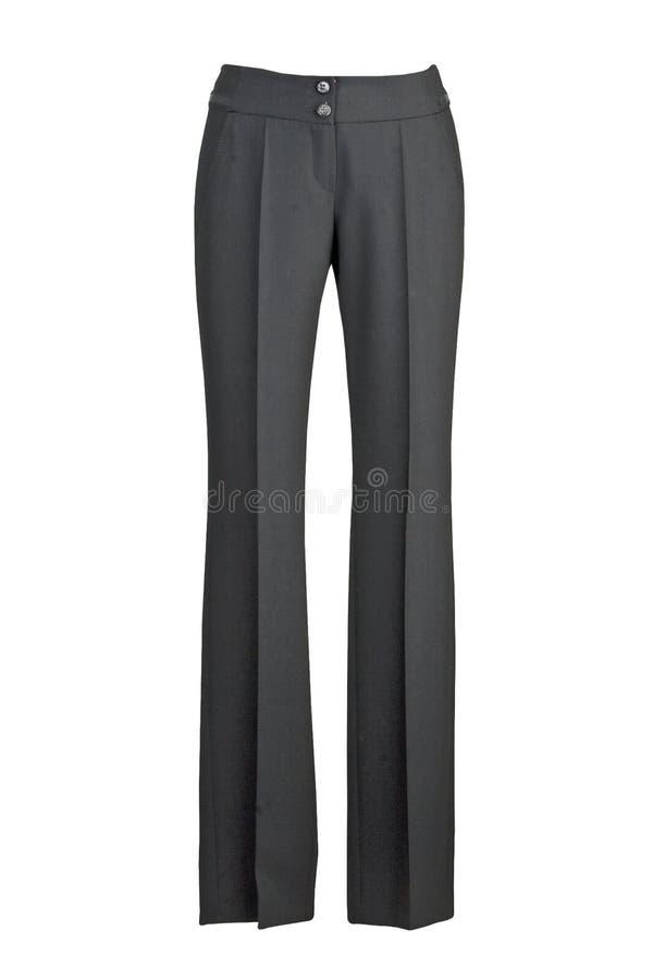 Zwarte broeken royalty-vrije stock foto