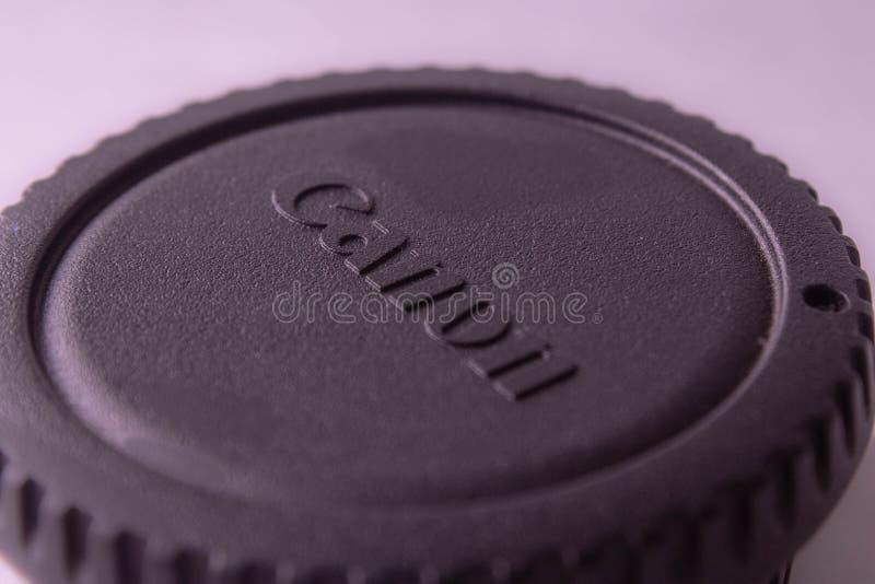 Zwarte canon GLB stock fotografie