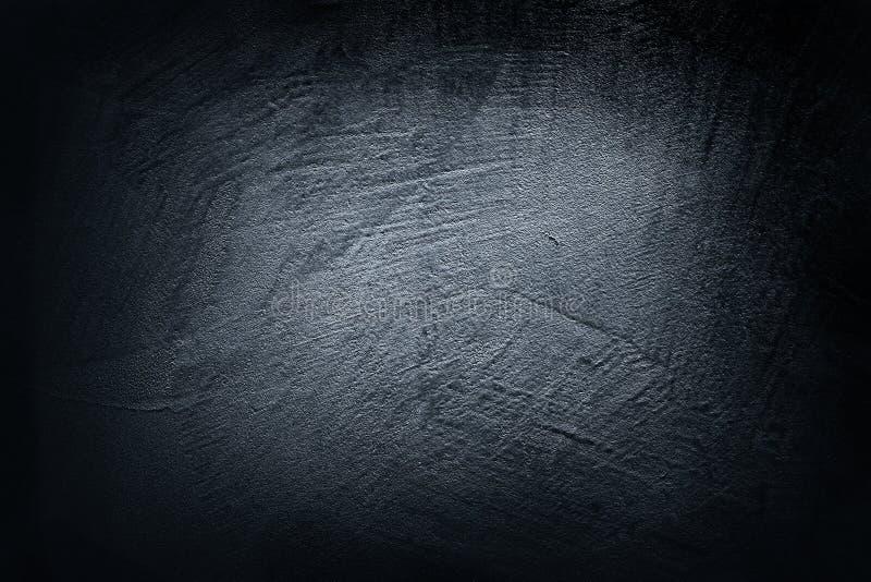Zwarte donkerblauwe toontextuur voor achtergrond en Webbanner stock foto