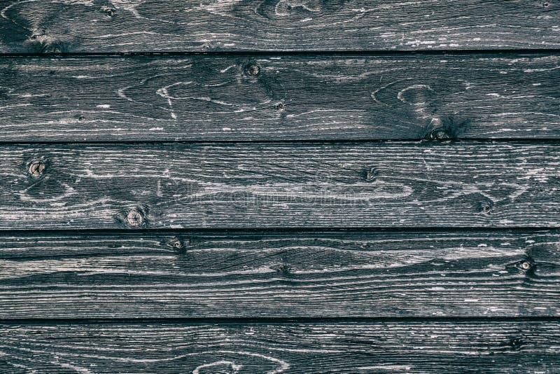 Zwarte donkergrijze gekleurde houten achtergrond Rustieke grunge abstracte houten achtergrond of textuur stock afbeelding