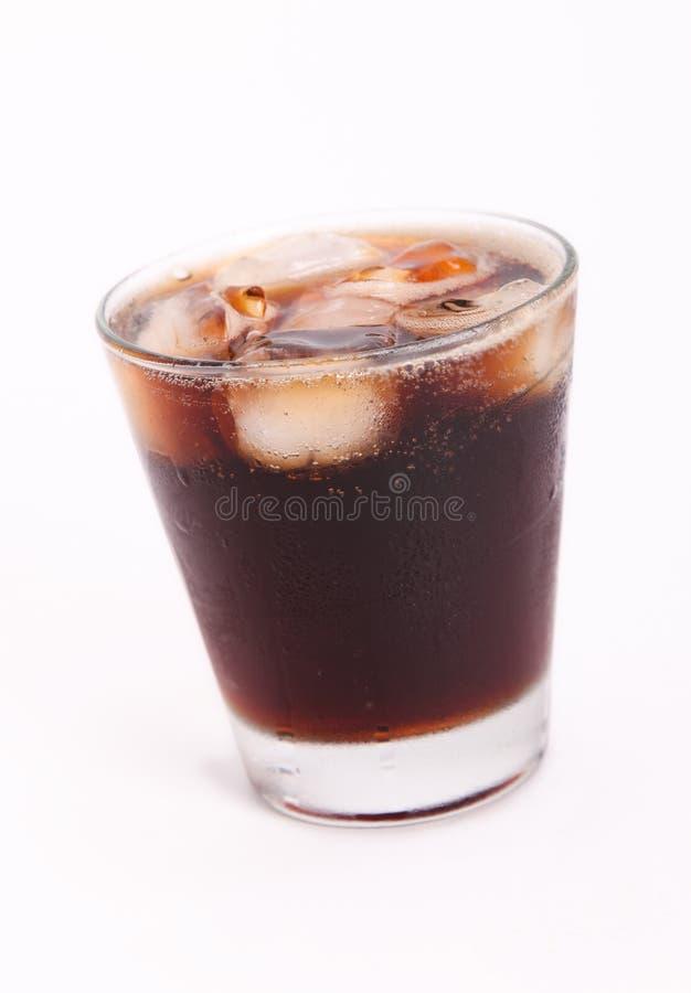 Zwarte drank royalty-vrije stock afbeeldingen