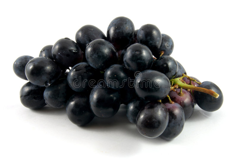 Zwarte druif stock afbeeldingen