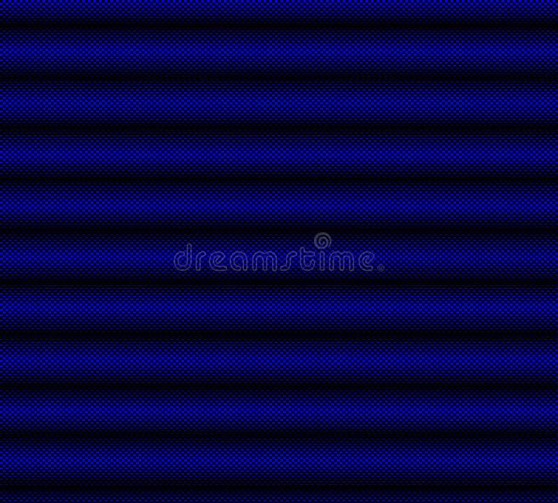 Zwarte en blauwe geruite achtergrond vector illustratie