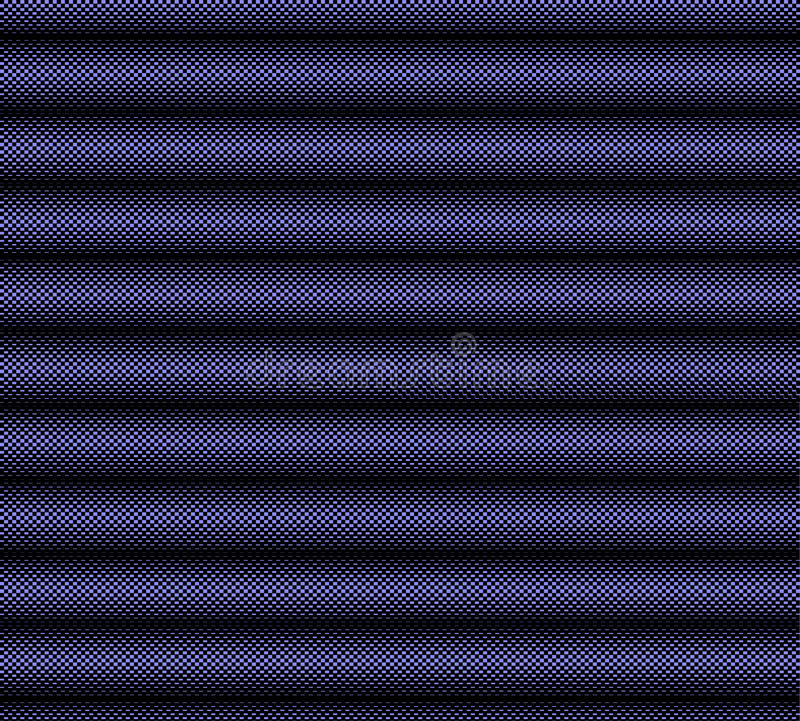 Zwarte en blauwe geruite achtergrond stock illustratie