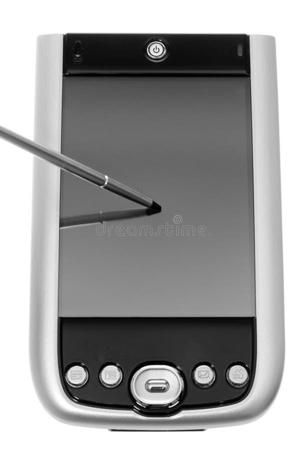 Zwarte en Zilveren PDA royalty-vrije stock foto