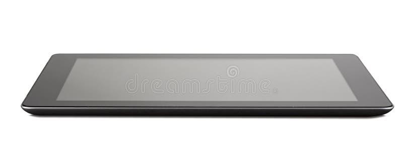 Zwarte generische tabletPC stock foto's