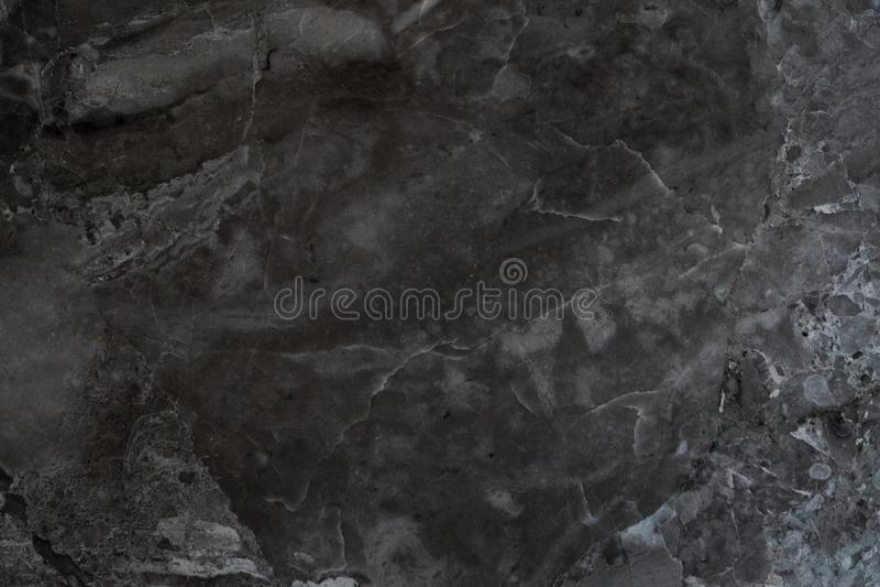 Zwarte grijze marmeren van het muurpatroon vloer als achtergrond royalty-vrije stock foto's