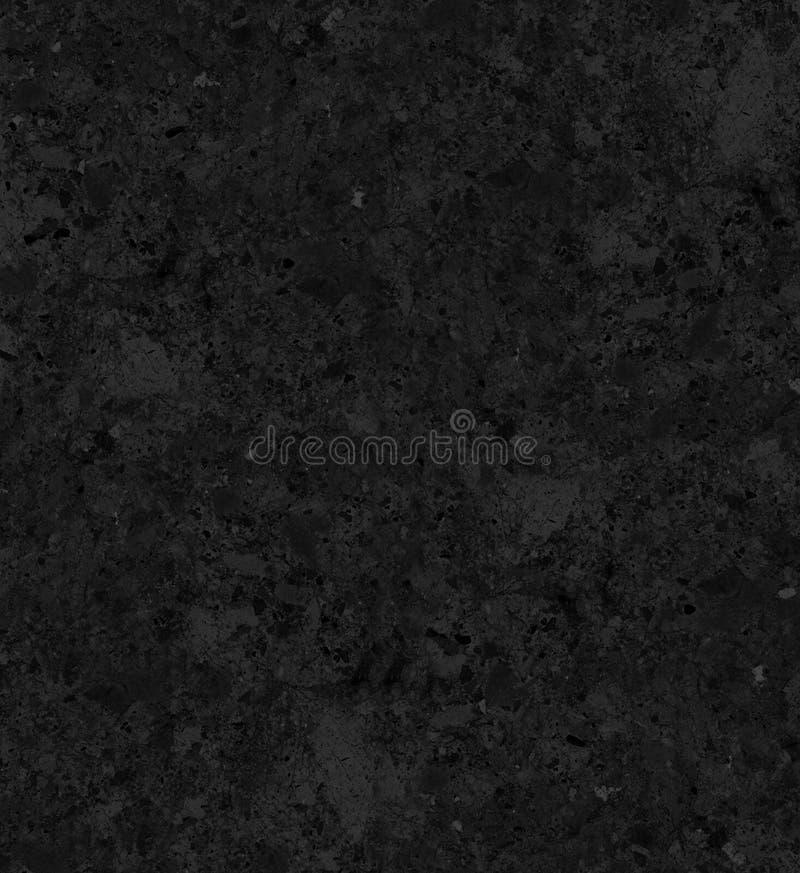 Zwarte Grote marmeren textuur stock illustratie