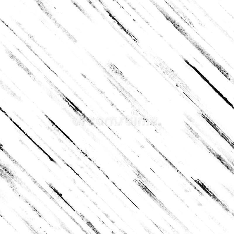 Zwarte grungestrepen op witte achtergrond royalty-vrije stock foto