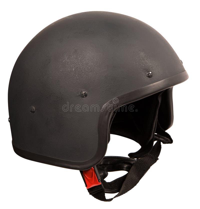 Zwarte helm royalty-vrije stock afbeeldingen