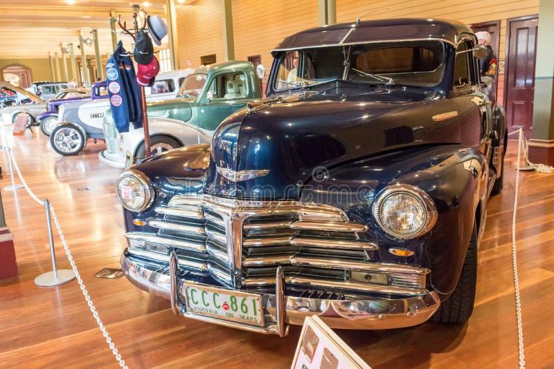 Zwarte hete de staafauto van Chevrolet stock afbeelding