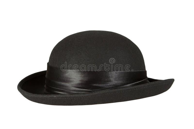 Zwarte hoed royalty-vrije stock afbeeldingen